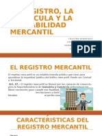 DIAPOSITIVAS REGISTRO MERCANTIL