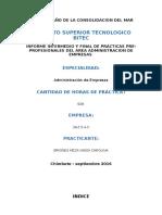 Informe Intermedio y Final