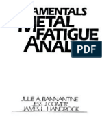 Fundamentals of Metal Fatigue Analysis – J. A. Bannantine, J. J. Comer e J. L. Handrock, Editora Prentice Hall, 1990.
