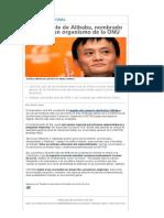 El Presidente de Alibaba, Nombrado Asesor de Un Organismo de La ONU - 20minutos