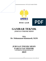 Buku Ajar Gambar Teknik TM