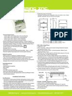 OmniMeter Universal Smart Meter User Manual EKM Metering (Adam Brouwer's Conflicted Copy 2015-03-11)
