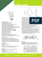 EKM Metering EKM-15E 120 Volt Meter Spec Sheet