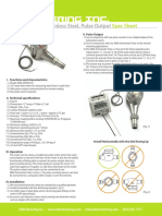 EKM SPWM 075 Water Meter Spec Sheet (Adam Brouwer's Conflicted Copy 2015-03-11)