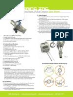 EKM SPWM 200 Water Meter Spec Sheet (Adam Brouwer's Conflicted Copy 2015-03-11)