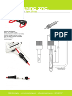 EKM Inline Fuse Holder Spec Sheet