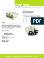 Eight Digit Pulse Counter Spec Sheet Old