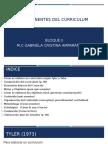 TEMA 1 BLOQUE II Componentes del curriculum.pptx