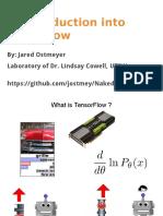 Tensorflow Presentation