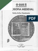 NASCIMENTO, Carlos Arthur - O Que e Filosofia Medieval