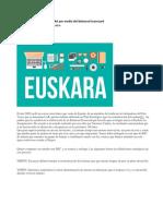 Preservar El Lenguaje EUSKARA Por Medio Del Balanced Scorecard