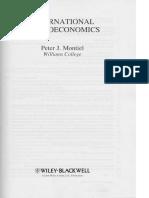 International Macroeconomics Montiel