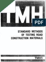 Tmh1-Method b Tests on Aggregates