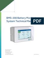 Aquion Energy BMS-200 Technical Manual