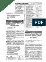 RM 449 2006 Norma Sanitaria Para La Aplicación Del Sistema HACCP en La Fabricación de Alimentos y Bebidas