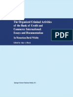 Block (Ed.) - The Organized Criminal Activities of the Bank of Credit and Commerce International.. (2001)