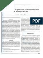 Anestesia Para El Paciente Politraumatizado