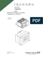 Manual Endress Hauser FMU 90