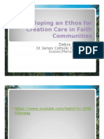 Developing an Ethos for Creation Care in Faith Communities