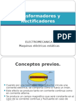 Transformadores y Rectificador