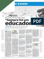 Paginas Azuis Poeta Francisco Carvalho