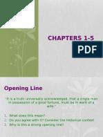 Pride and Prejudice Ch1-5