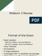 Midterm+3+Review+2016