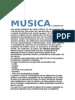 LA MUSICALa música es una parte integral de cada cultura.docx