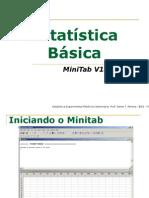 Estatística Básica - MiniTab 16
