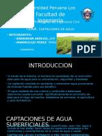 Captaciones de Agua Superficiales y Subterraneas