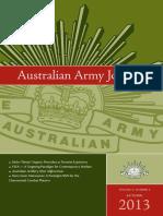 Aussie Army Journal 2013 1
