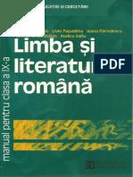 Manual   Limba Si Literatura Română, Clasa a 9 a, Ed. Humantitas