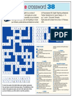 Prize Crossword 38