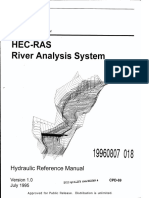 HEC-RAS River Analysis System