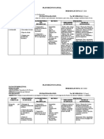 Planificacion Anual Operador de Pc
