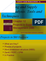 Chapter 12-Projects in Supply Mgmt