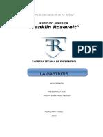 Monografia La Gastritis