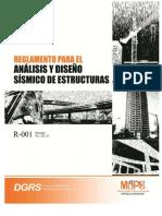 R-001 Reglamento Sismico