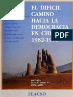 El Dificl Camino a La Democracia en Chile
