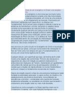 As implicações políticas de ser evangélico no Brasil e as eleições 2010