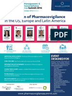 Risk Management and Pharmacovigilance America Summit