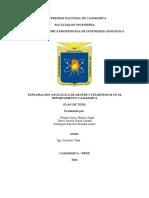 Estudio Petrografico Macroscopico Del Pórfido de Chamis Distrito de Cajamarca Arreglado