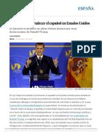 Felipe VI_ El Rey Insta a Fortalecer El Español en Estados Unidos _ España _ EL PAÍS