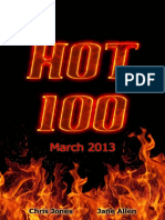Hot 100 Quiz Book (March 2013) - Chris Jones