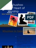 Islamic Khushoo