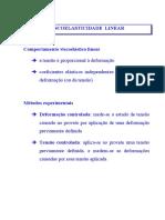 BioMat-I 3.2. Viscoelasticidade Linear
