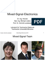 Mixed Signal Electronics Introduction