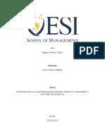 INTRODUCCION A LA MACROECONOMIA, EMPLEO, PRODUCTO, EQUILIBRIO Y FACTORES ECONOMICOS