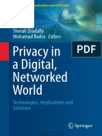Privacy in a Digital, Networked World Technologies, Implications and Solutions (Computer Communications and Networks) 1st Ed. 2015 Edition {PRG}