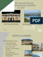 1 Tipos de Proyectos de Construccion - Estudios y Diseños